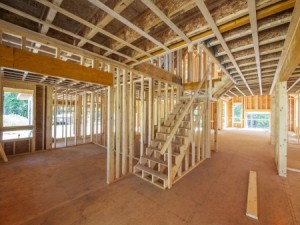 21936127 - new house interior framing